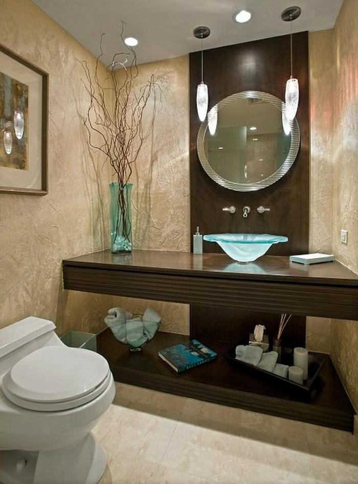 Erstaunliche glas waschbecken modelle f r jedes badezimmer - Glas im badezimmer ...