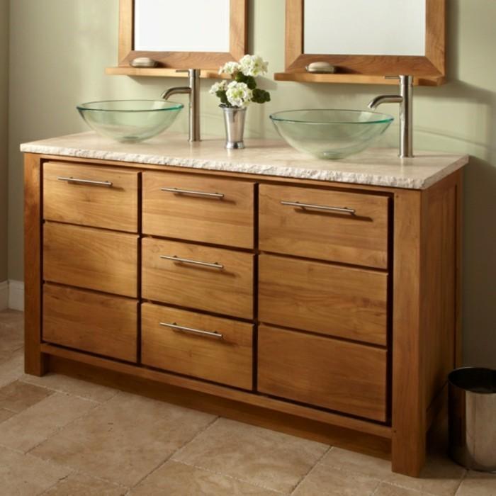 Erstaunliche glas waschbecken modelle f r jedes badezimmer for Moderne waschbecken mit unterschrank