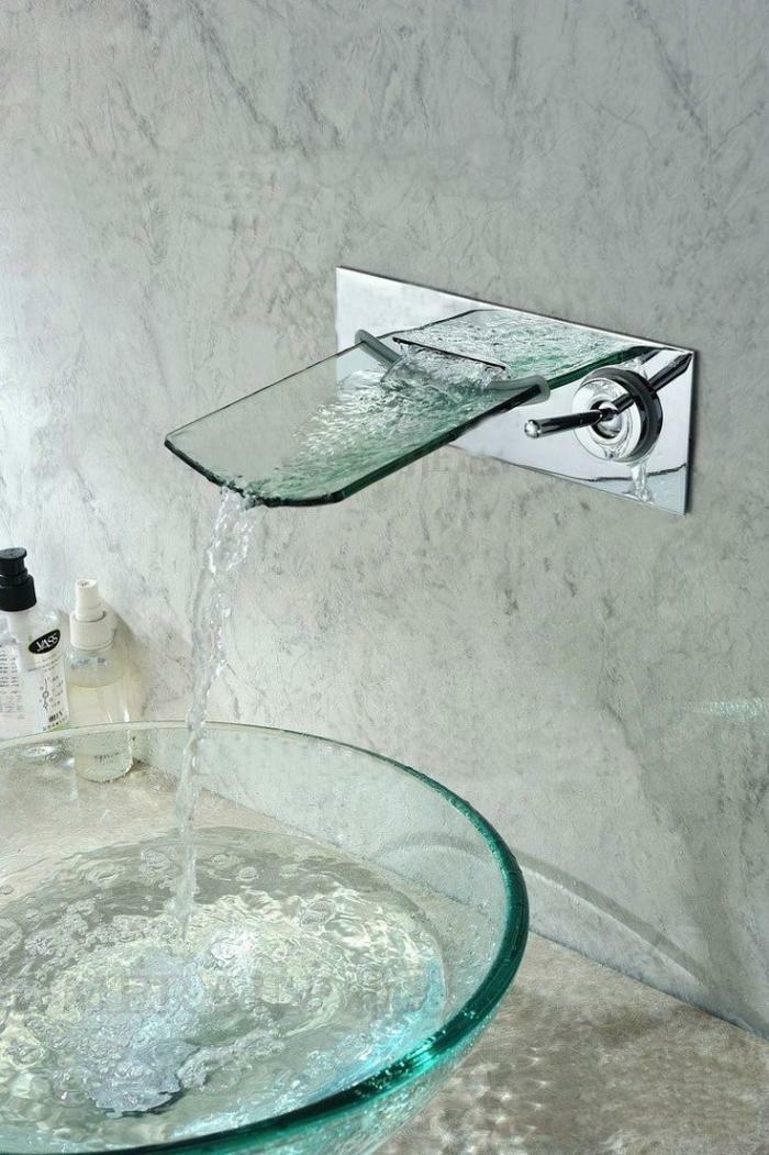 Glas-waschbecken-moderne