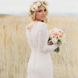 Haarschmuck mit Blumen für Bräute - 50 Bilder