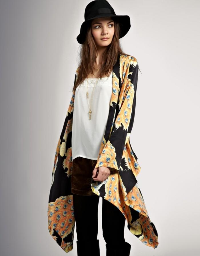 Hippie-Modelle-Frühlingsjacken-Damen-buntes-Modell