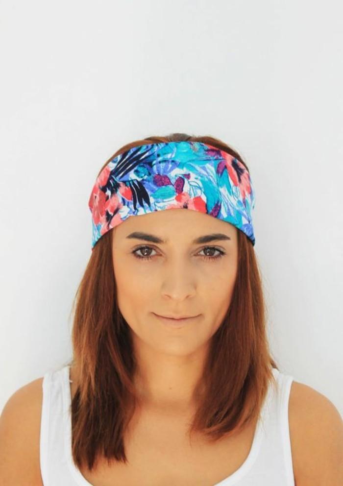 Hippie-Schmuck-für-die-Haare-buntes-Muster