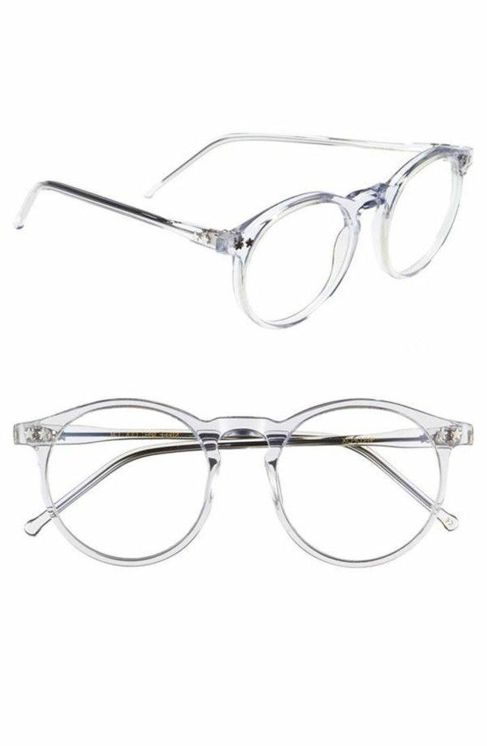 Hipster-Brillen-durchsichtiges-Modell-Unisex