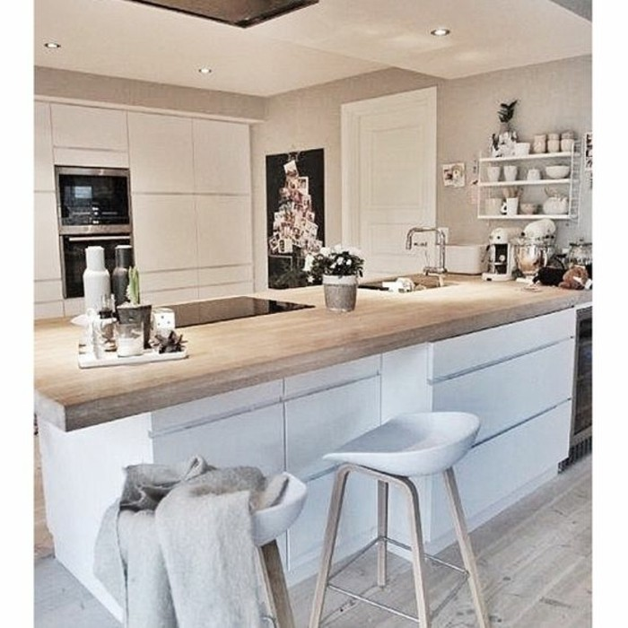 Küchenstühle-mit-schlichtem-Design-Barhocker