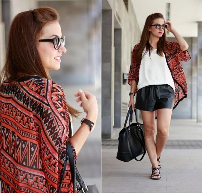 Kimono-Jacke-in-Boho-Chic-Stil