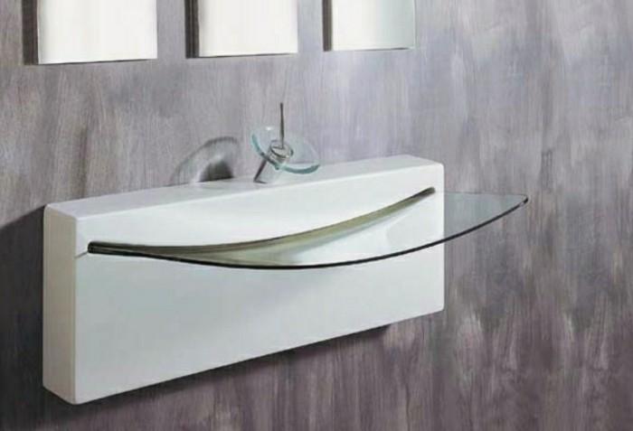 Moderne Waschbecken  Bilder zum Inspirieren  Archzinenet ~ Waschbecken Zum Draufstellen