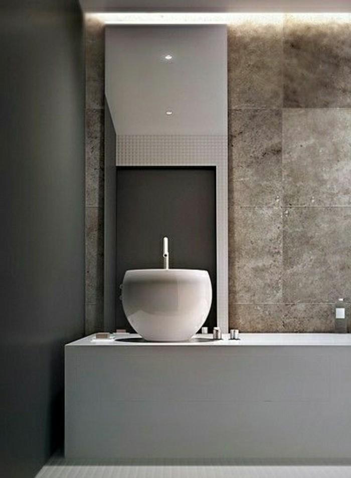 Moderne -waschbecken-design-weiß-braun