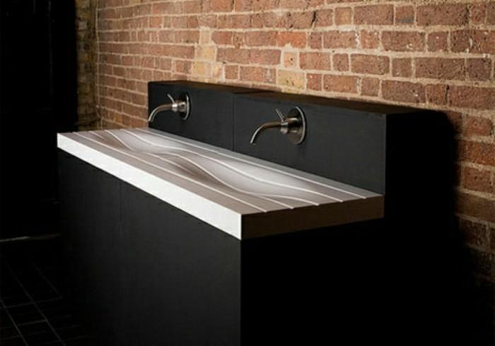 Moderne -waschbecken-und-steinwand