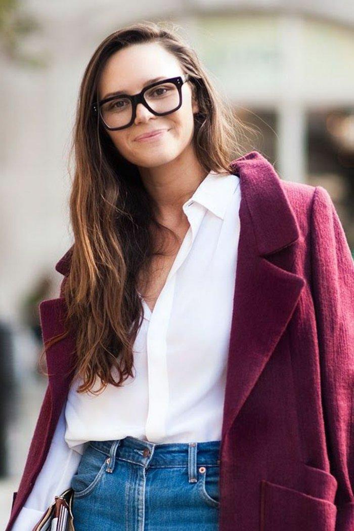 Nerdbrillen-in-Schwarz-Modell-für-Frauen