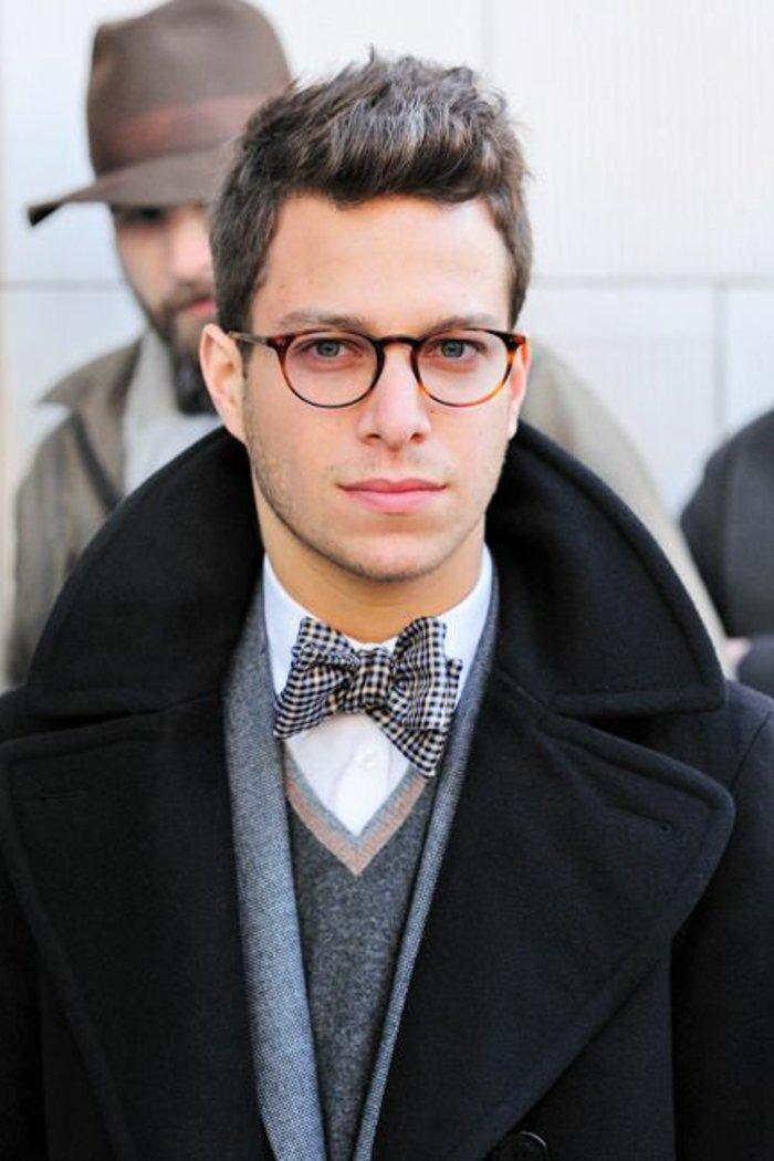 Nerdbrillen-ohne-Stärke-effektvolles-Modell-für-Männer