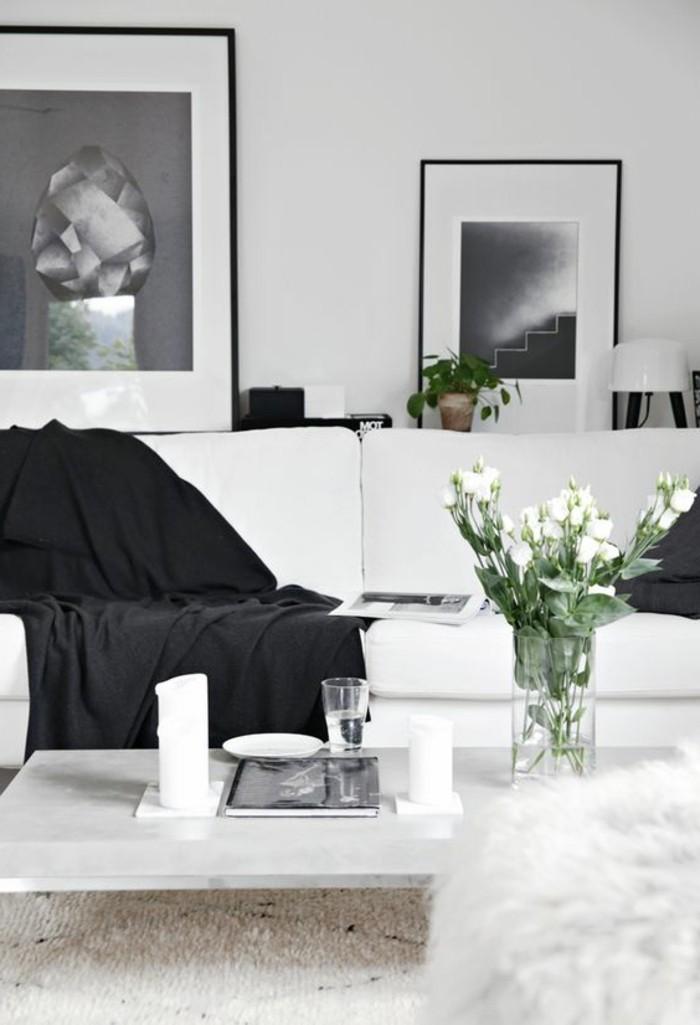 schöne wohnzimmer deko:Schönes Wohnzimmer mit frischen Farben