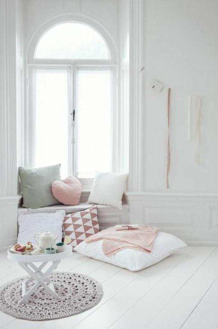 43 ideen f r behagliche sitzecke auf der fensterbank. Black Bedroom Furniture Sets. Home Design Ideas