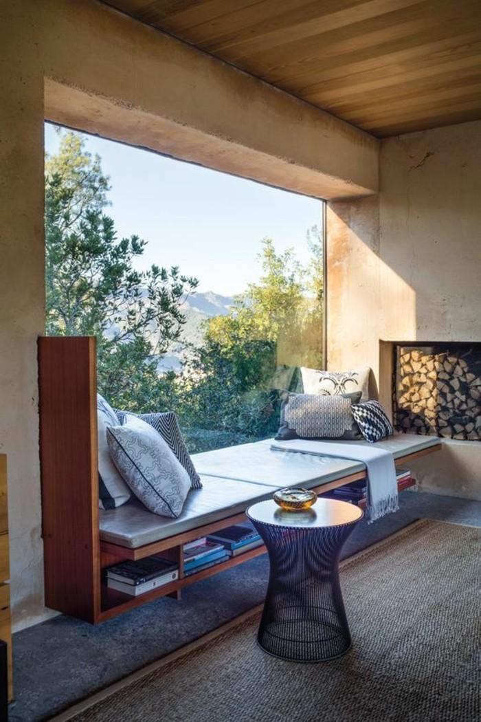 43 Ideen für behagliche Sitzecke auf der Fensterbank - Archzine.net