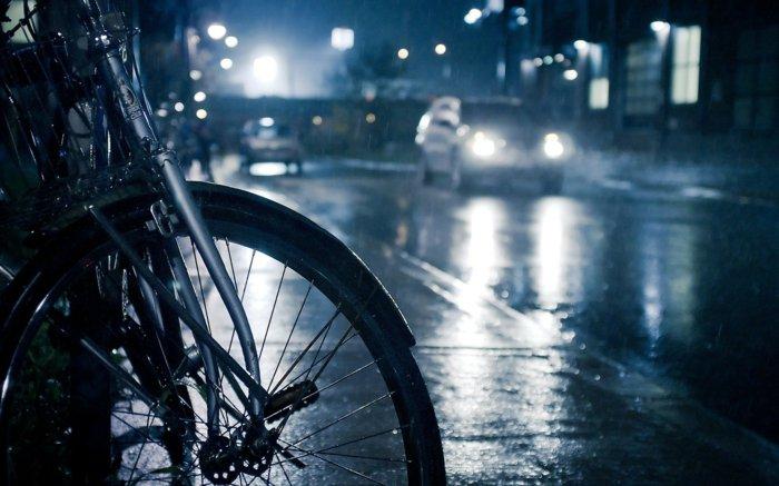 Spaziergang-am-Abend-mit-dem-Fahrrad