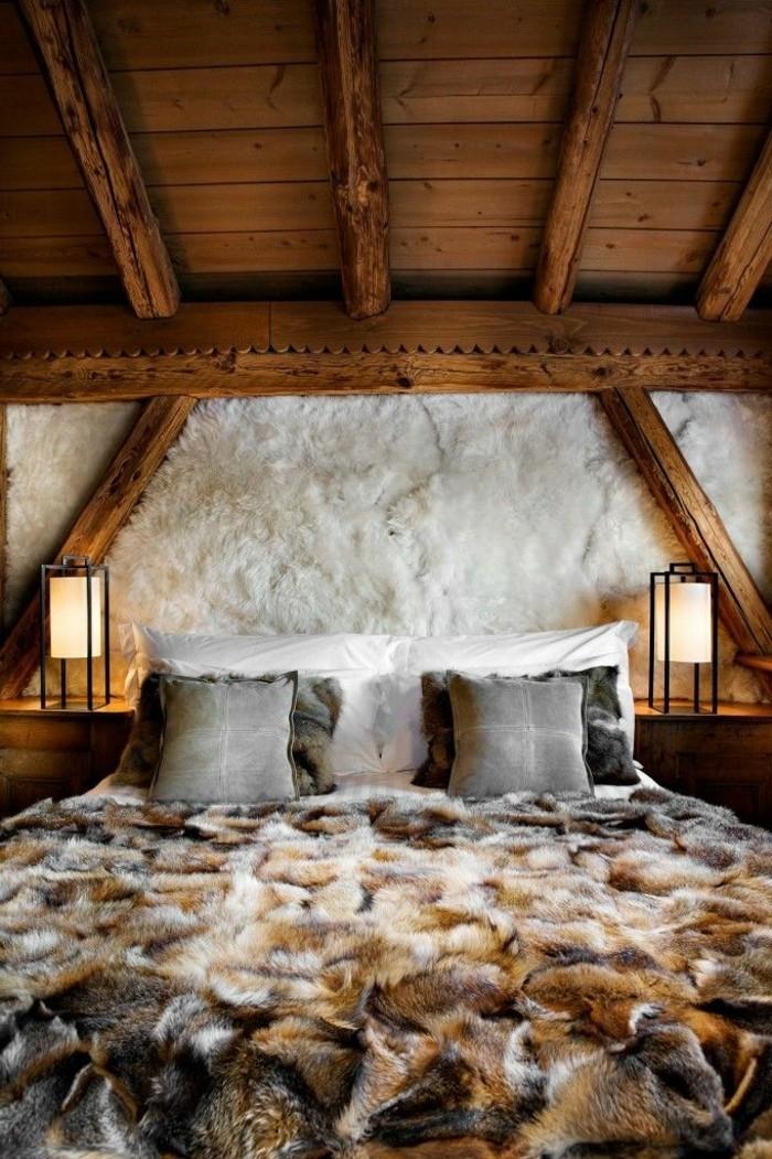 Tagesdecken-für-Betten-holz-decke