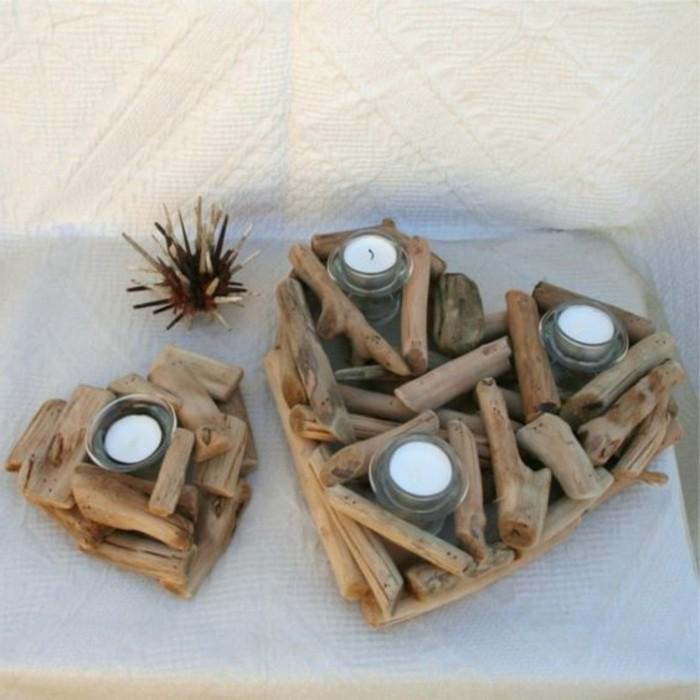 Teelichthalter-in-Herzenform-aus-hölzernen-Sticks-basteln