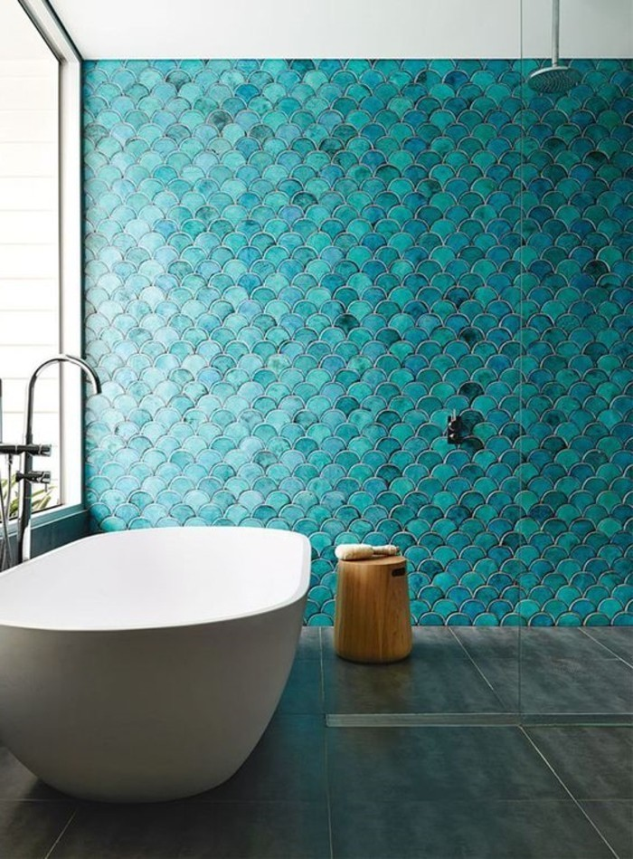 82 tolle badezimmer fliesen designs zum inspirieren! - archzine, Deko ideen