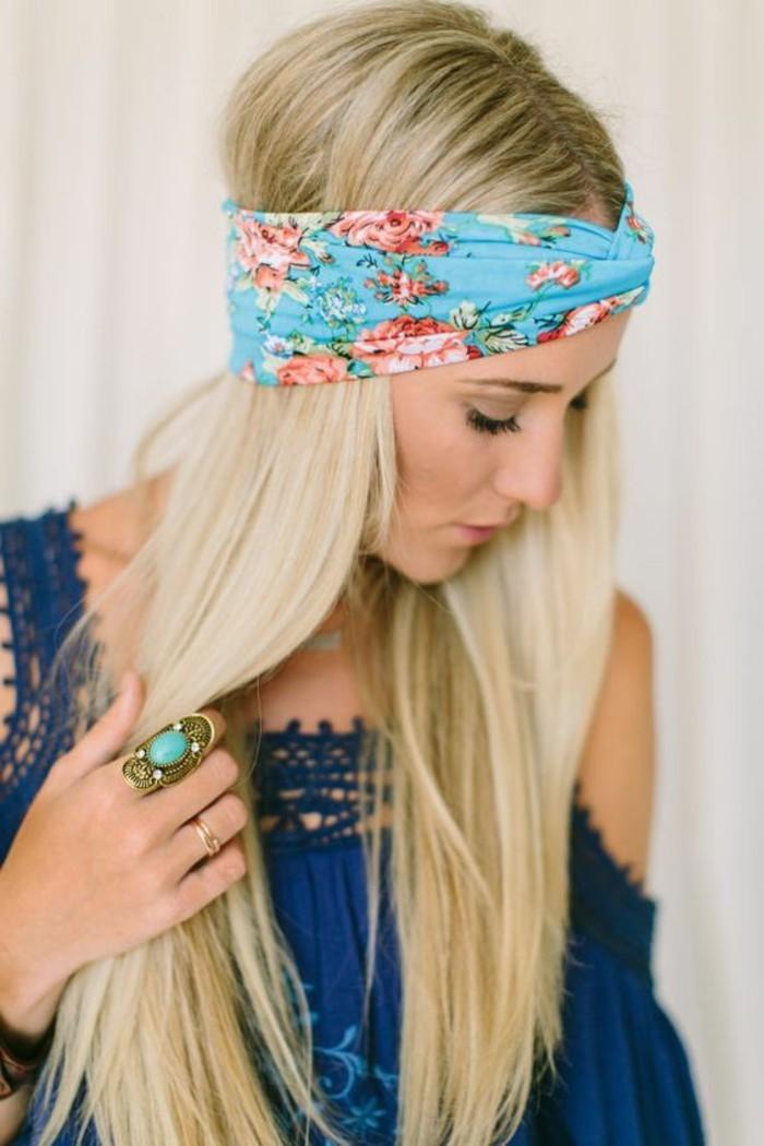 Turban-Haaraccessoire-mit-floralen-Motiven