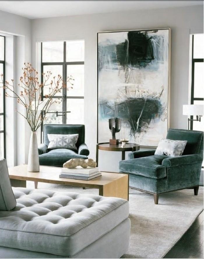 dekoration wohnzimmer modern. Black Bedroom Furniture Sets. Home Design Ideas