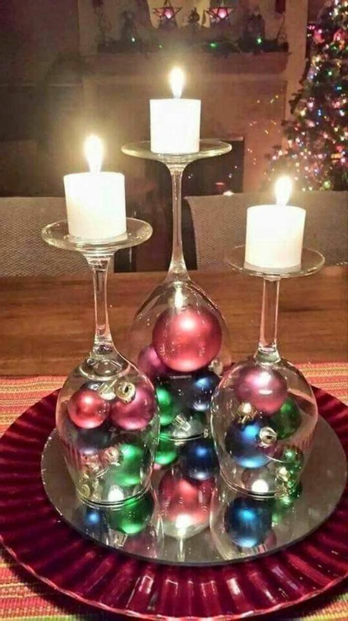 Weihnachtsdekoration-leichte-DIY-Idee-aus-Gläsern-Kerzenhalter-basteln