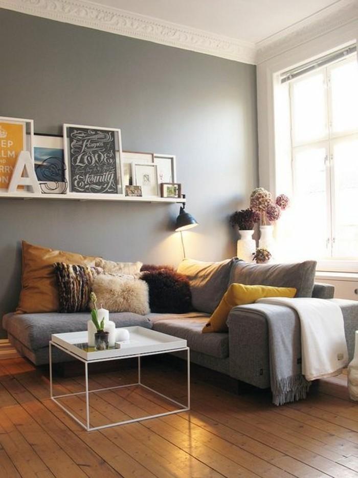 Deko wohnzimmer kerzen  Einladendes Wohnzimmer dekorieren: Ideen und Tipps - Archzine.net