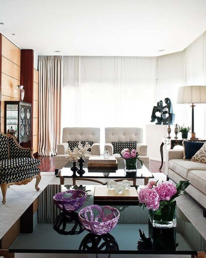 Wohnzimmer Blumen Einladendes Dekorieren Ideen Und Tipps