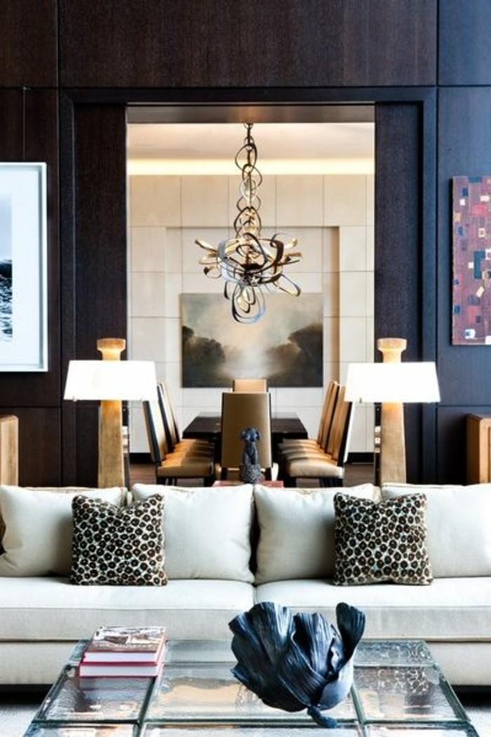 Wohnzimmer-dekorieren-mit-kissen-lampen-bilder