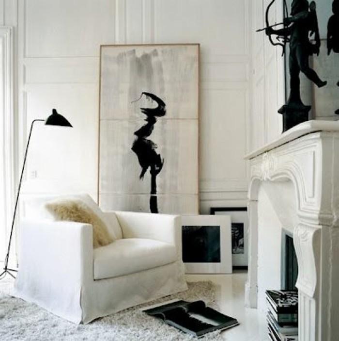 Wohnzimmer-mit-kamin-dekorieren