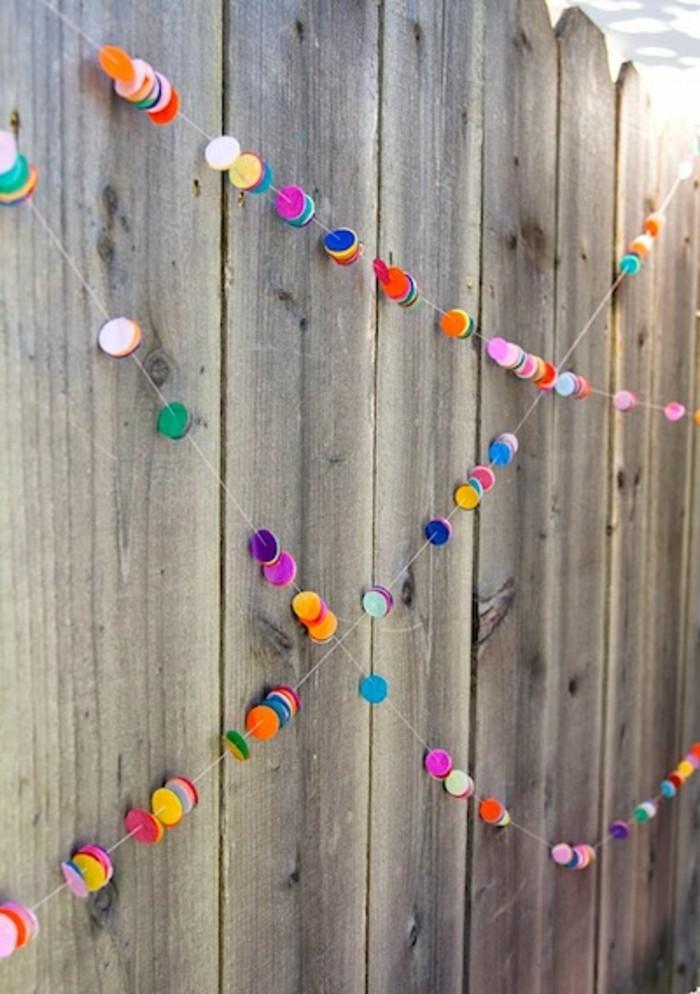 150 verbl ffende bastelideen aus papier for Girlande selbst gestalten