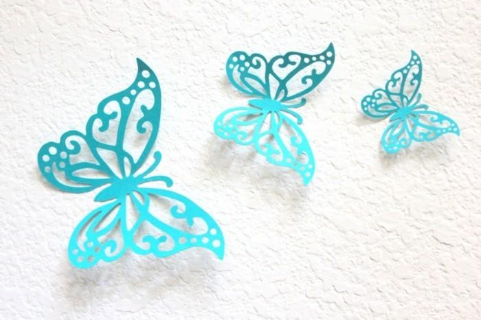 blaue-schmetterlinge-selber-machen-aus-papier