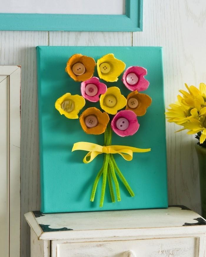 blumenstrauß-in-bunten-farben-wunderschöne-diy-ideen
