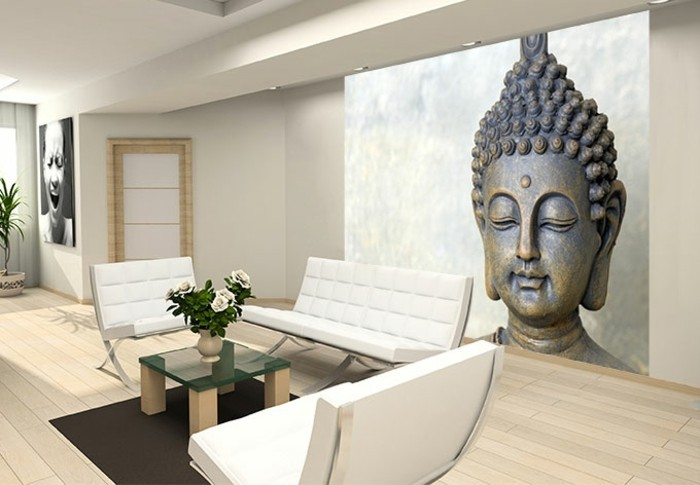 wohnzimmer ideen buddha. Black Bedroom Furniture Sets. Home Design Ideas