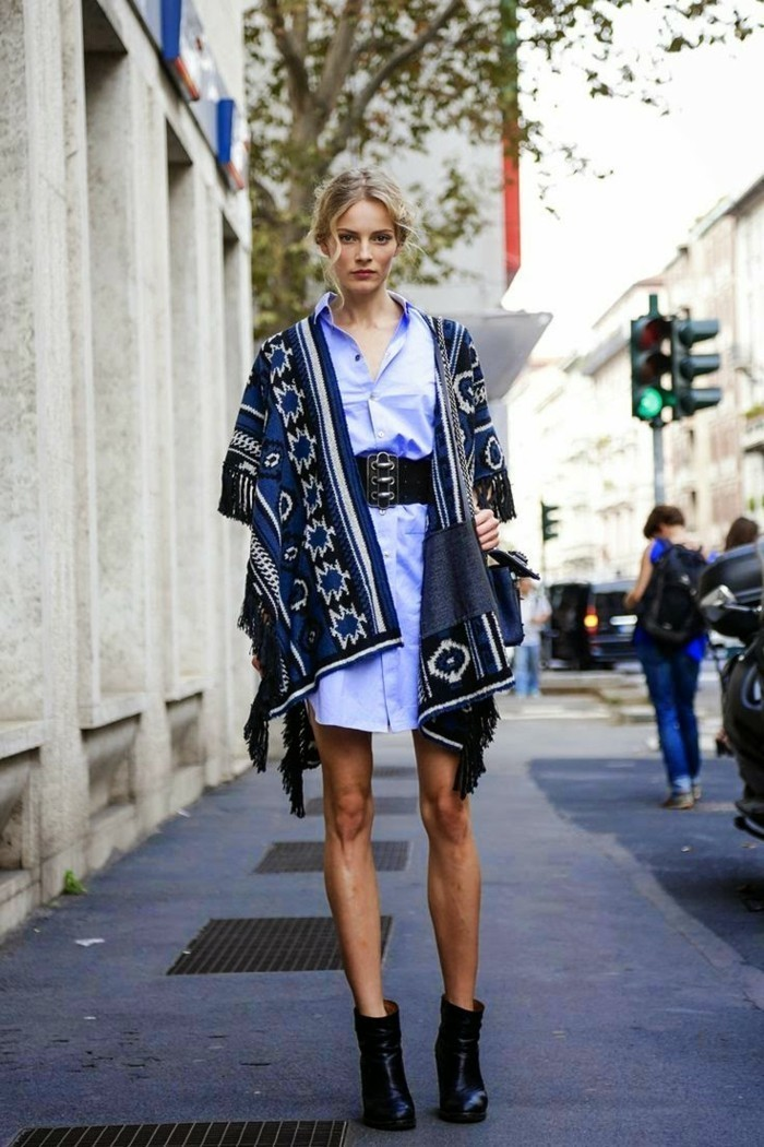 cooler-Kimono-Mantel-Poncho-Muster-Kimono-Jacke