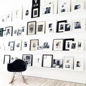 Schwarzer Stuhl - Kombination von Komfort und Stil