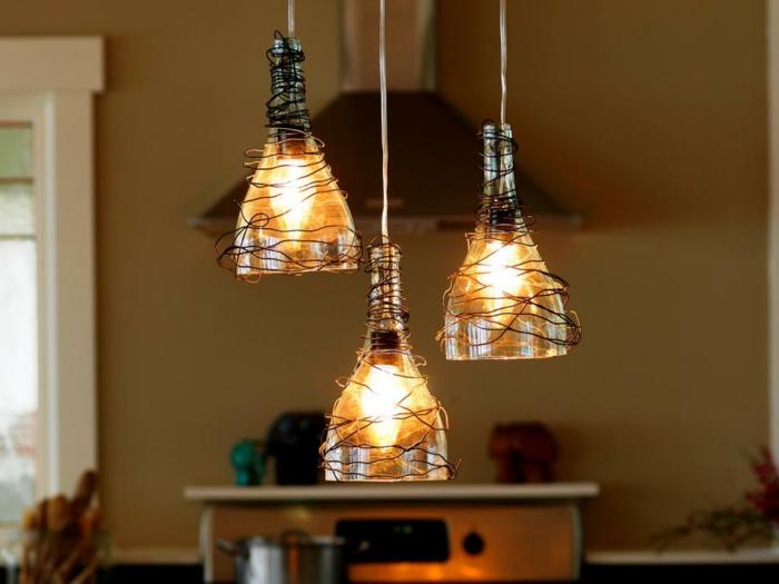 deko-bastelideen-unikale-schöne-hängende-lampen
