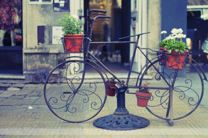 dekoratives-Fahrrad-mit-unikalem-Design