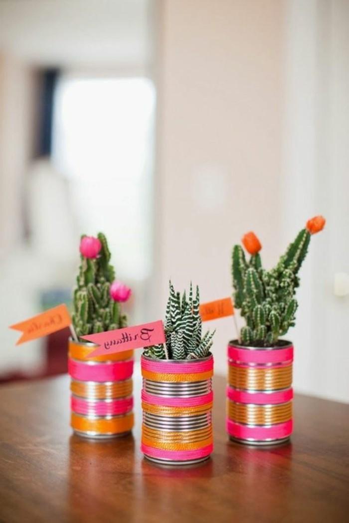 diy-deko-drei-wunderschöne-vasen-nebeneinander