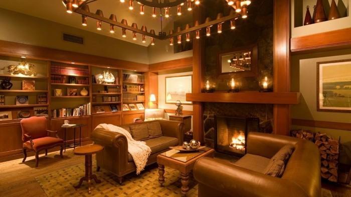 elegantes-interieur-beige-wandfarbe-fürs-wohnzimmer-warmes-ambiente