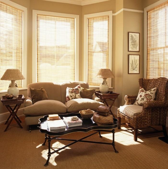 weiße Sofas elegantes Design