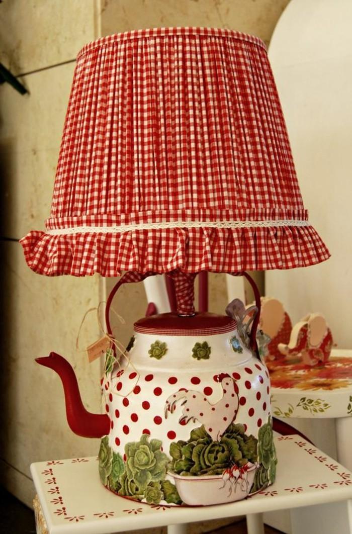 erstaunliche-Teekanne-Lampe-in-Landhausstil