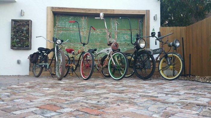 fantastische-Modelle-retro-Fahrräder-mit-unterschiedlichen-Designs