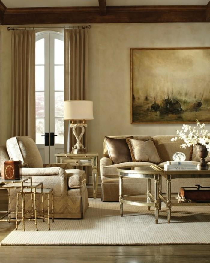 farbe-cappuccino-im-wunderschönen-eleganten-wohnzimmer