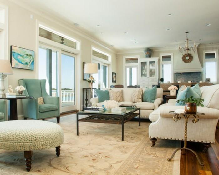 Frisches Ambiente Beige Wohnideen Fürs Wohnzimmer