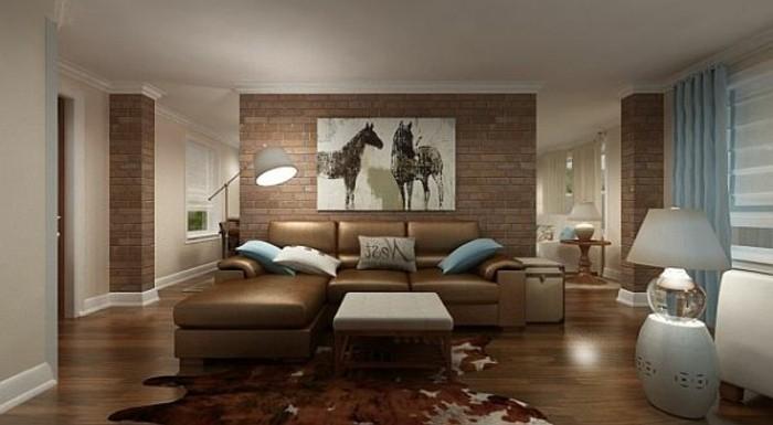 gemütliches-ambiente-im-wohnzimmer-schöne-wohnideen-beige-farben
