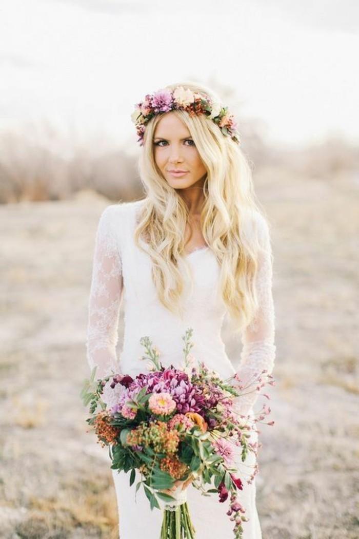 Haarschmuck Hochzeit Offene Haare