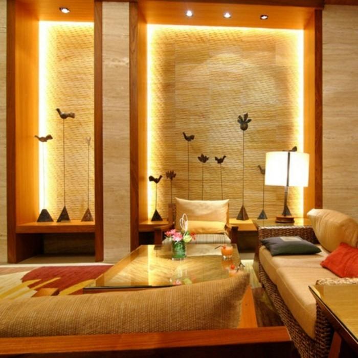 indirekte-beleuchtung-beige-wandfarbe-fürs-wohnzimmer-luxus-gestaltung