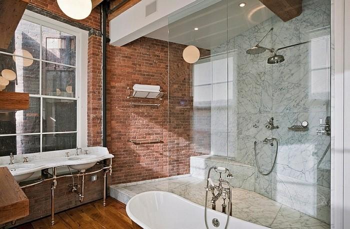 industrielles-modell-badezimmer-moderne-duschkabine-aus-glas
