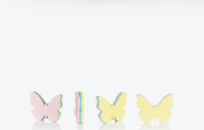 interessante-bastelideen-aus-papier-herrliche-schmetterlinge