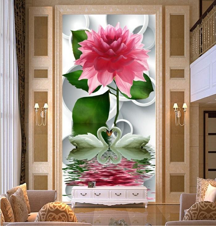 Fototapete wohnzimmer 3d raum und m beldesign inspiration for Raum gestalten 3d