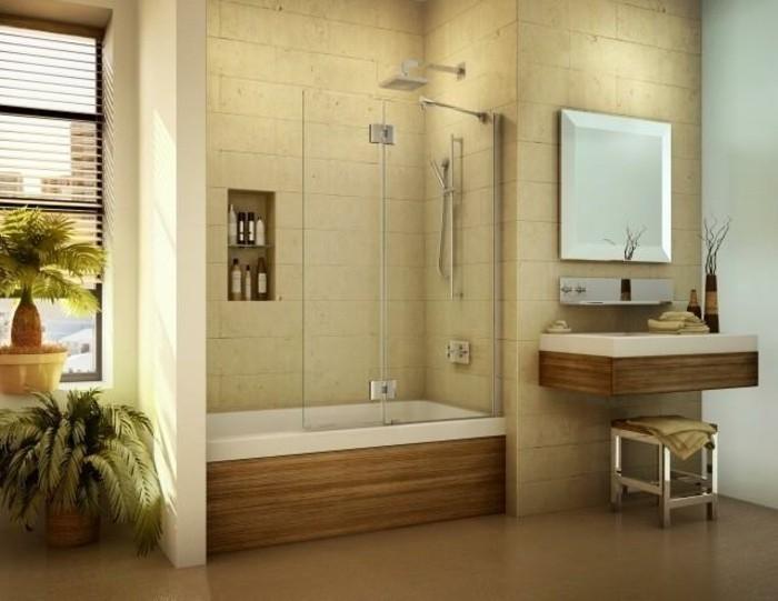 interessante-glaswand-dusche-modernes-badezimmer
